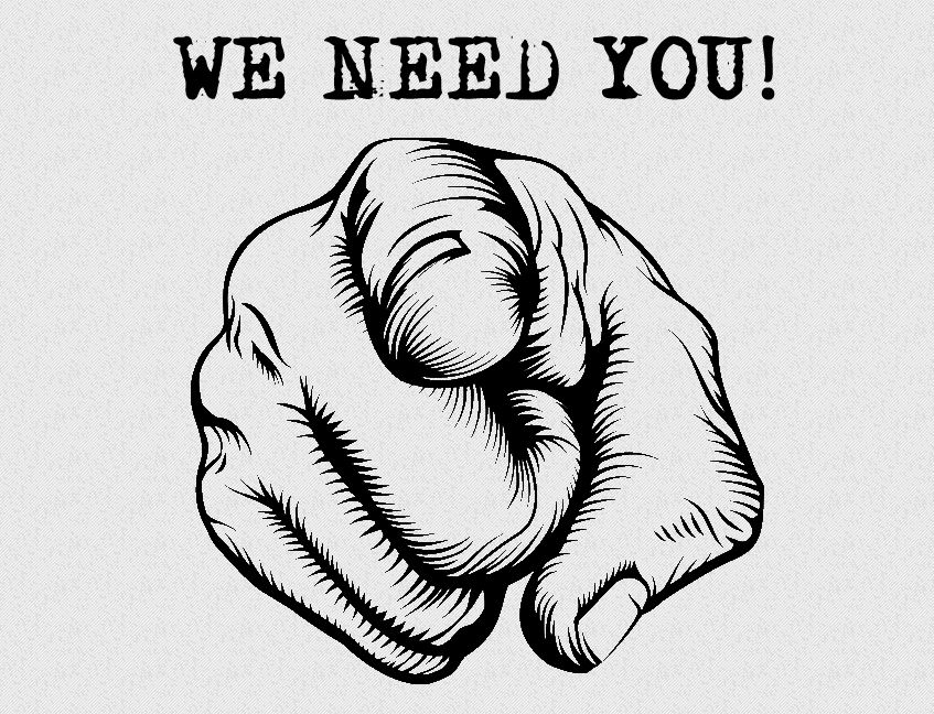We Need You.JPG