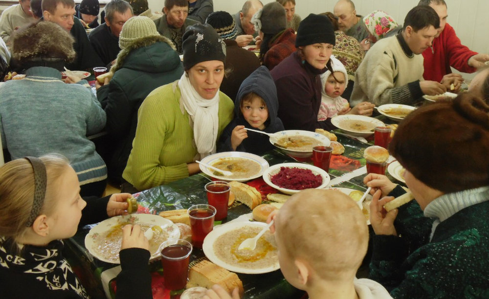 winter help - Winter can be a difficult and frightening time for many in Eastern Europe.