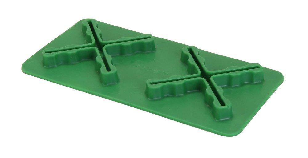 X FIX - Fremstillet i Termoplast plast.CE mærket.Str. 22,5 x 11,25 x 3,0 cm.X Fix kan fungere som
