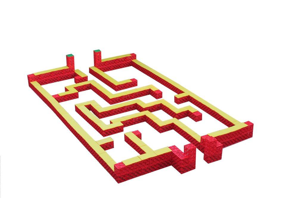 LABYRINT 116 KLODSER - Labyrinter er spændende og sjove. Kan du finde vejen ud?