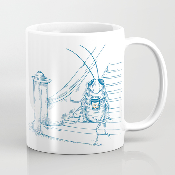 Cup O' Coffee NYC_cockroach Mug