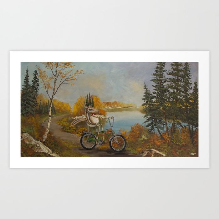 Hookie Art Print