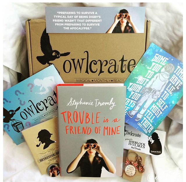 OwlcrateAugust 2015:Mystery Box - I created the watercolor Harriet The Spy print for this box