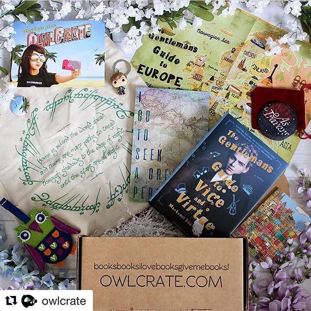 So glad I can finally share this with y'all! Check out my Owlcrate exclusive Looking for Alaska print featured in last months @owlcrate  box! I've loved seeing all of your unboxing pics! Keen 'em coming! 📦💙🌎#Repost @owlcrate ・・・ Introducing our July WANDERLUST box! We had so much fun putting this box together for you guys. Here's what was inside: 🏝 A Newt Scamander keychain from @originalfunko 🏝 A super cute pocket notebook from @weareooly 🏝 A pocket mirror inspired by A Darker Shade of Magic, designed exclusively by @missphi 🏝 An exclusive art print inspired by Looking for Alaska, created by @shaileyanndesign 🏝 An adorable felt owl luggage tag created by @mudpuppykids 🏝 An exclusive drawstring backpack inspired by The Lord of the Rings, and created by Team OwlCrate! 🏝 A collectible monthly OwlCrate pin and postcard, both designed by @spykles 🏝 And our book pick this month was The Gentleman's Guide to Vice and Virtue! We sent out an exclusive edition which also came with a signed bookplate and fun letter from author @themackenzilee, as well as a really cool map! 🏝 We hope you guys enjoyed this fun box! What was your favourite item?? 🏝 We still have some of these boxes available at www.owlcrateshop.com if you wanna grab one! 🏝 Photo by @spinatale 🏝 #owlcrate #subscriptionbox #bookstagram #yalovin #thelordoftherings #newtscamander #funkopop #thegentlemansguidetoviceandvirtue #epicreads #adsom #shaileyanndesign