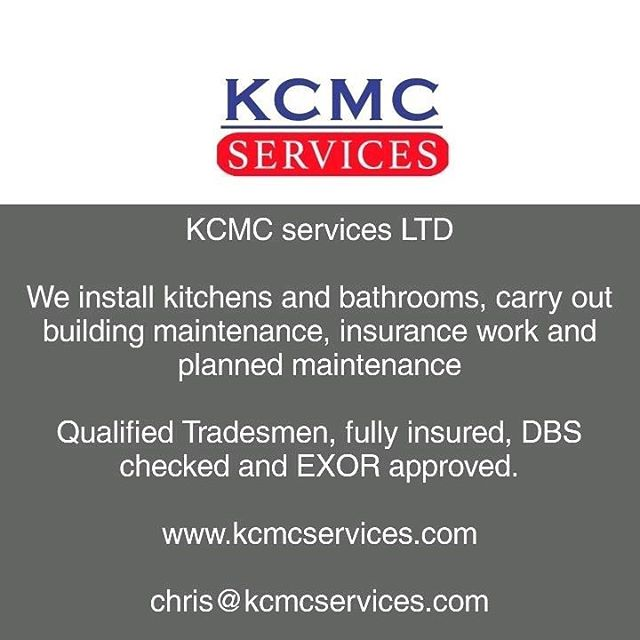 We are passionate about what we do and deliver quality.  Fully Insured for domestic and commercial work, All power tools are PAT tested, Qualified tradesmen covering central and South East London  www.kcmcservices.com  #checkatrade #cityandguilds #plumbing #plumbers #carpenter #carpentry #locksmiths #accreditation #kitchens #bathrooms #sinks #taps #london