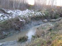 Site d'érosion avant les aménagements