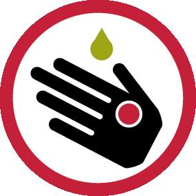 Risque de réactions cutanées en cas de contact avec la sève toxique