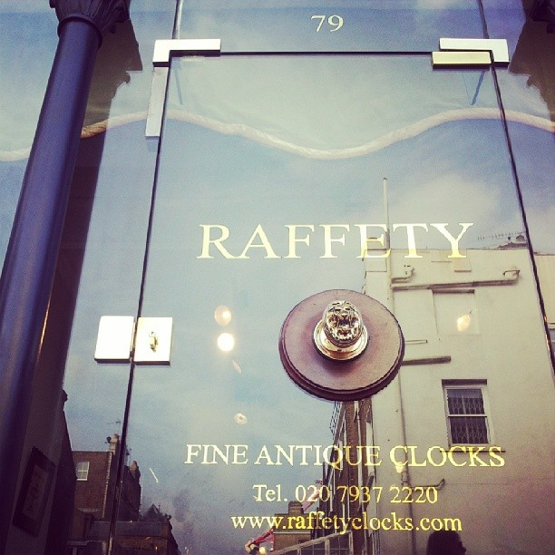 Raffety Antique Clocks
