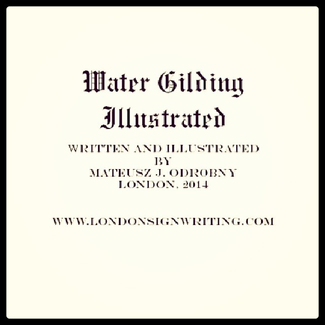 Water Gilding Illustrated