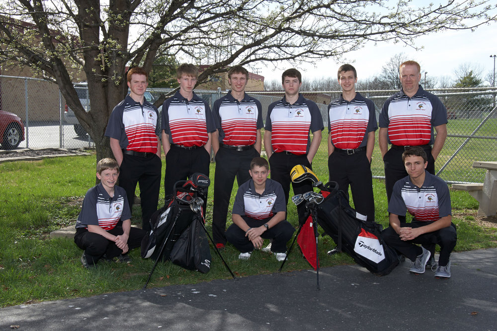 photo courtesy of the North Posey Men's Golf Team