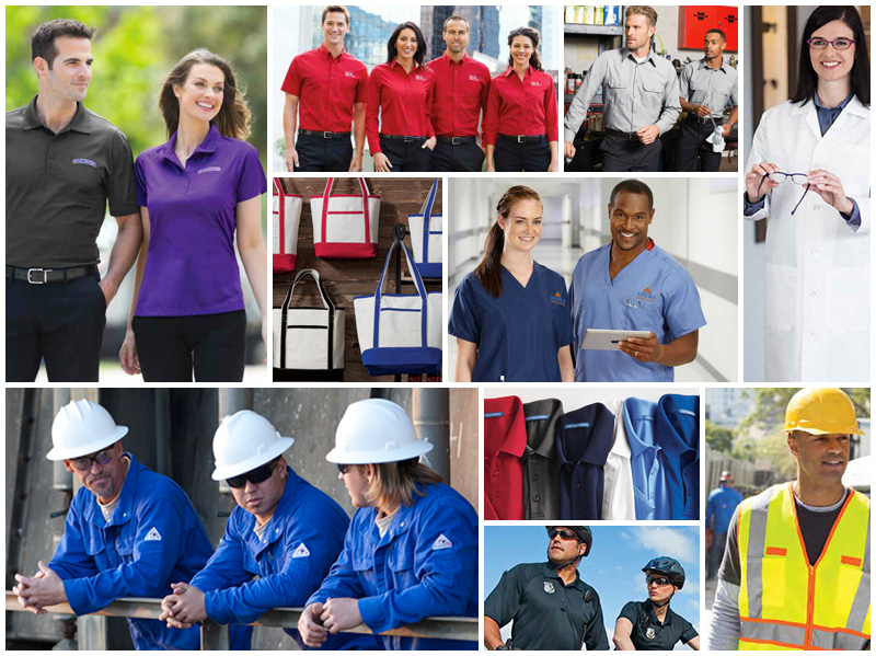 OPTIONS FOR ALL TOP INDUSTRIES - From Automotive Techs and Factory Workers to Teachers and Nurses, plus everything in between including options for Police, Fire, and Rescue. Superior Team can create a team store for your employees to purchase apparel when they need it. And with your company's logo!