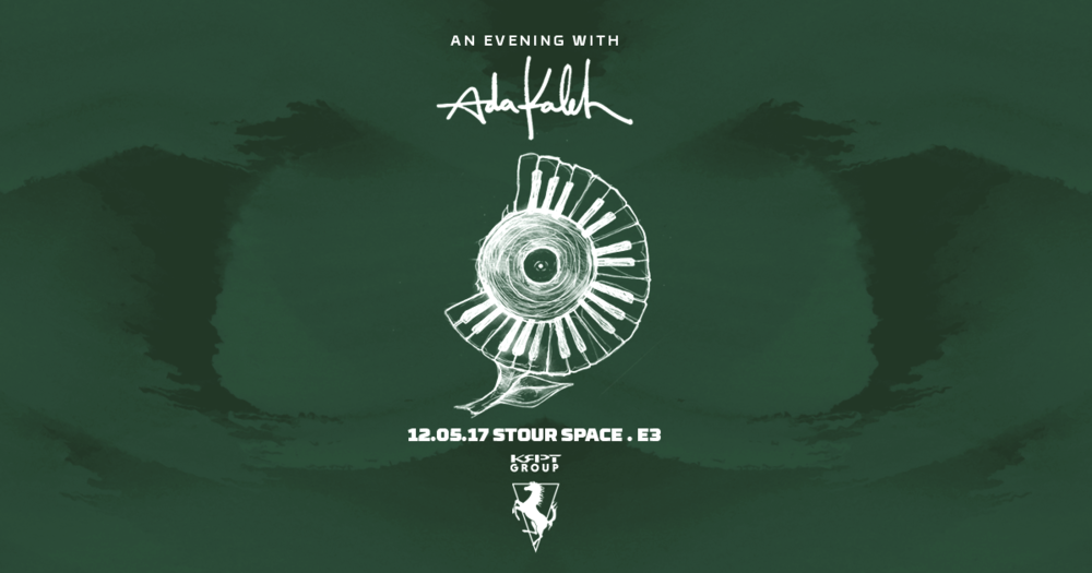 An Evening with Ada Kaleh - We recently produced an intimate party with exclusive custom live visuals for Ada Kaleh and R&S Records