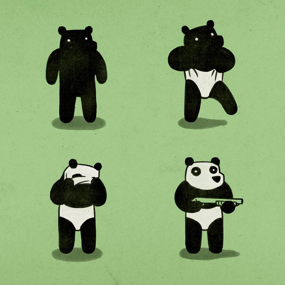 Bank Robbery Bear -