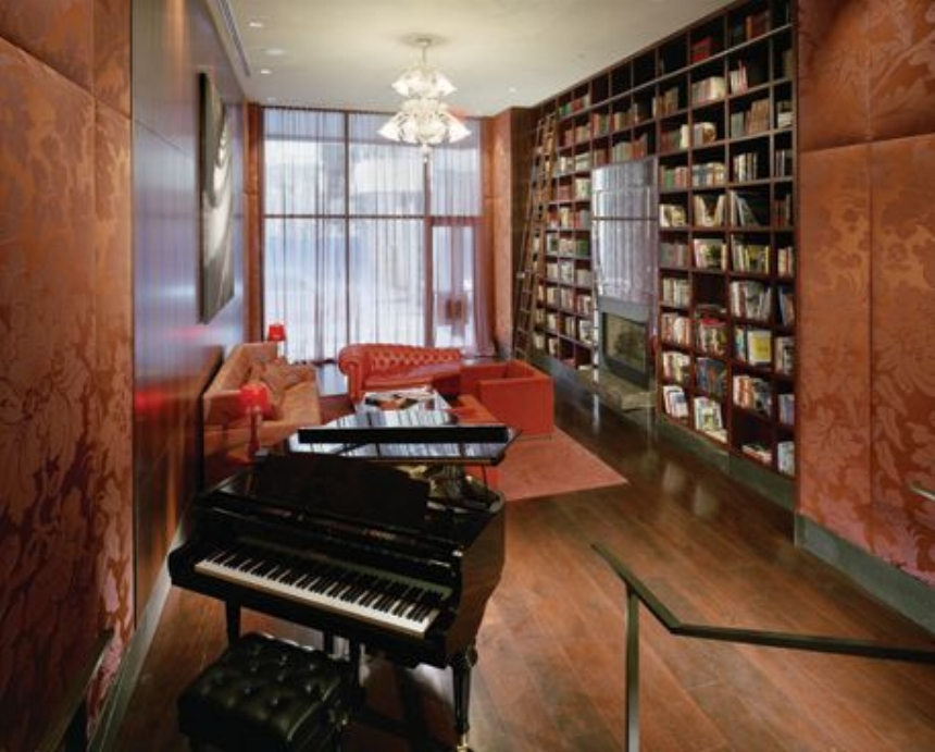 Library / Music Room