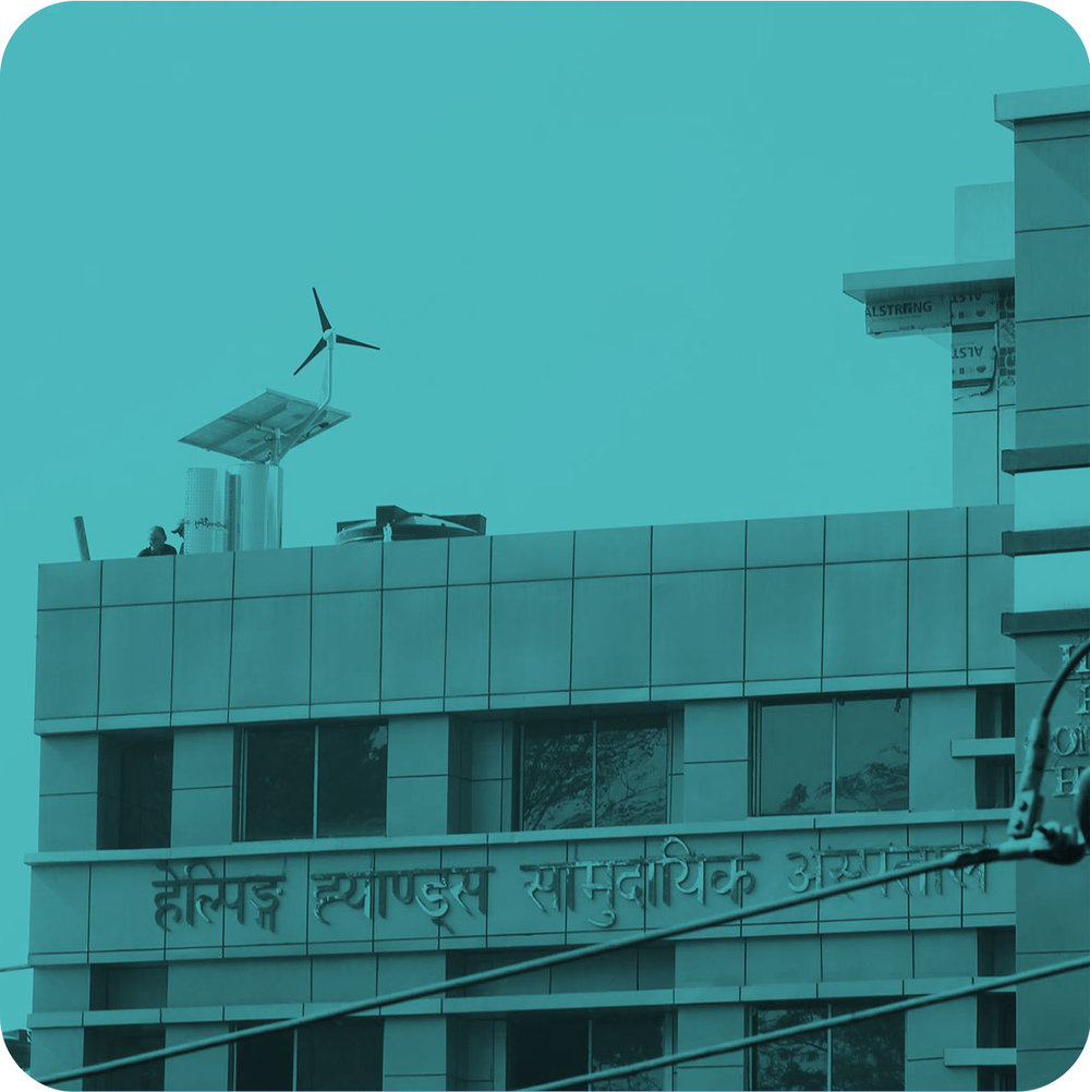 NEPAL - Solar & wind power water treatment systems at hospitals and schools
