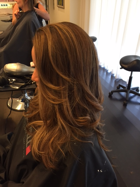 end result balayage 2