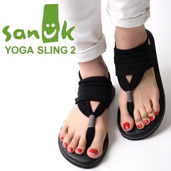 Ladies, have you heard of the award-winning Yoga Slings from Sanuk?? Ummmm....if not, you need to immediately get these on your feet! So so comfy and squishy, they're made out of actual YOGA MAT material and amazingly soft straps. Comfy heel pads add to the crazy-delicious wearability. And just sayin' girls, isn't Thornbury a bit of a yoga community?! 🤷🏻‍♀️ so come check these out! In store now...black, grey and Skyland print. BT-dubs, I'll basically be wearing mine indoors until I can slay the outdoors come spring. Namaslay! @sanuk we're in love! 😍 #yoga #namaste #sandals #sanuk #yogasling #pose #youneedtheseonyourfeet #comfortable #spring #summer #ladiesfootwear #footwear #thisisthornbury #smalltownlove #shopping #shop #shopsmall #shoplocal #collingwood #thornbury #meaford #clarksburg