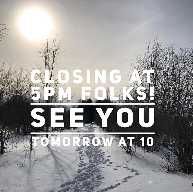 Closing a wee bit early everyone! See you tomorrow at 10am!
