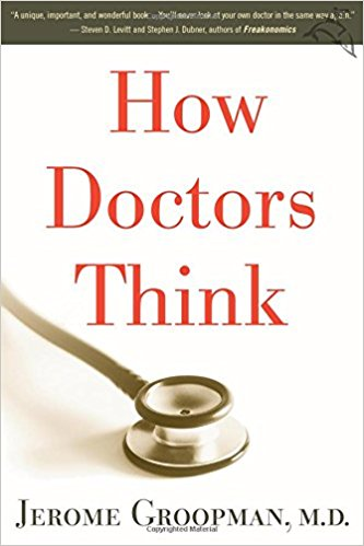 In analyzing how doctors think and how they diagnose patients, Groopman discovers that doctors sometimes make snap decisions that are usually correct but sometimes can be catastrophically wrong. Through his own personal experiences and other case studies, Groopman offers importance advice for patients and families…to ask clear, direct, and intelligent questions and to persevere in telling their stories so that, together, they can make better decisions.