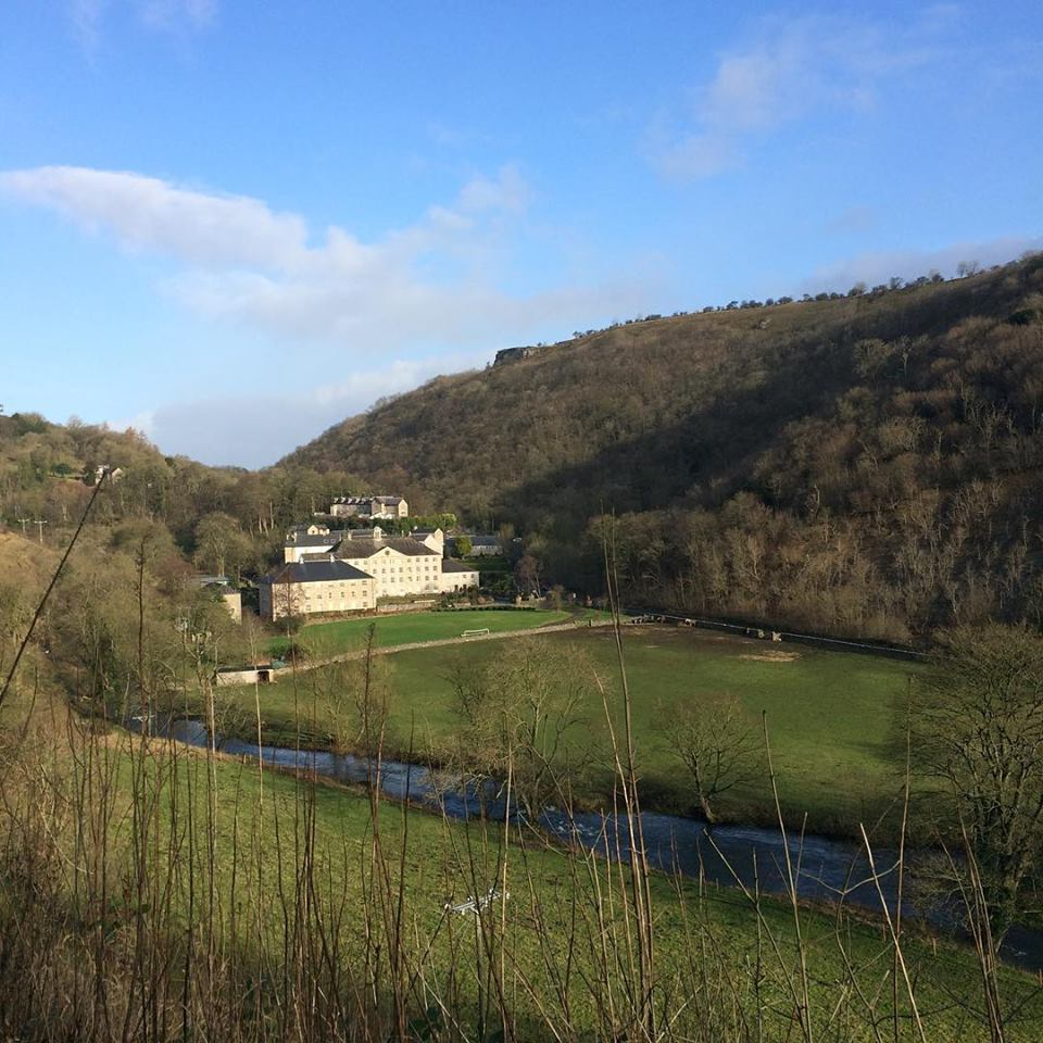 Monsal trail marathon training run