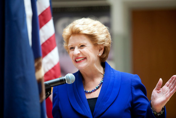 Debbie Stabenow - ABOUT DEBBIE: Born in Gladwin and raised in Clare, Debbie Stabenow knows what matters to Michigan. Elected to the United States Senate in 2000, she is respected for her ability to build coalitions to get things done for Michigan and our nation.As Ranking Member of the Senate Agriculture Committee, and as a member of the Senate Energy, Finance, and Budget Committees, she has a powerful and unique role to play in shaping our nation's manufacturing, health care, and agriculture policies, which are so critical to our future.Among her many accomplishments, she has cut taxes for small businesses and passed initiatives to revitalize our manufacturing sector. Senator Stabenow authored a bipartisan Farm Bill that is strengthening Michigan agriculture and making unprecedented investments in protecting the Great Lakes. She has played a leading role in making positive reforms to health care, and she successfully passed far-reaching reforms to improve our nation's mental health system. She is a true friend and fighter for Michigan.