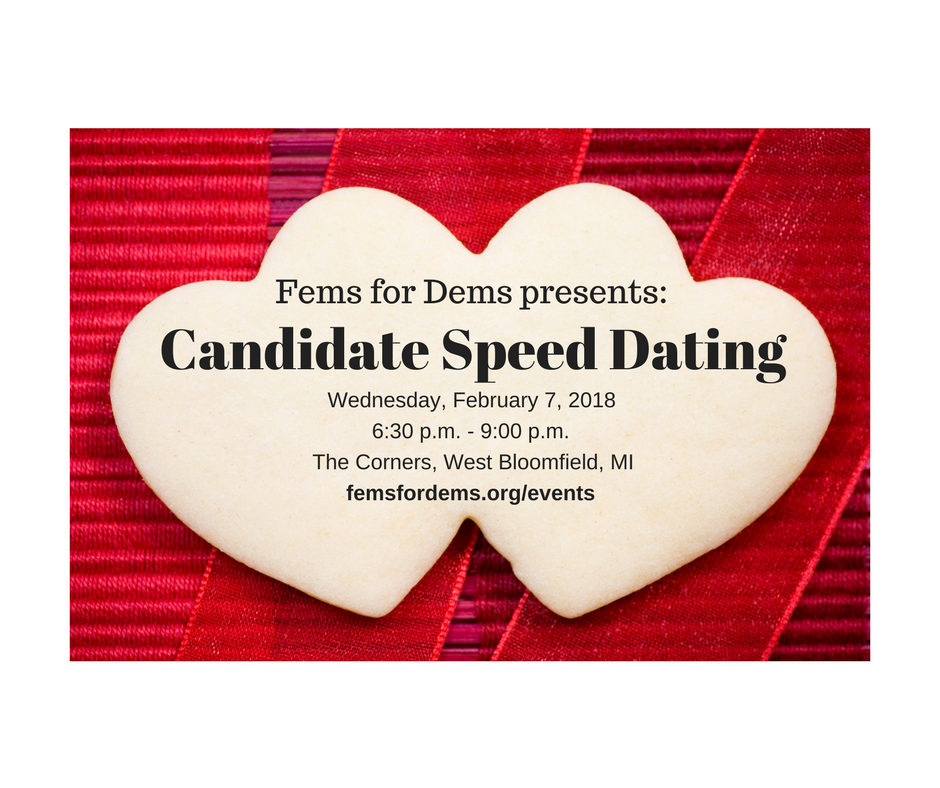 Meet Your Candidate Speed Dating Style Fems For Dems