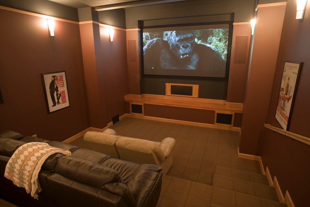 Home Theater / Old Mission Peninsula / Traverse City / Grand Traverse County