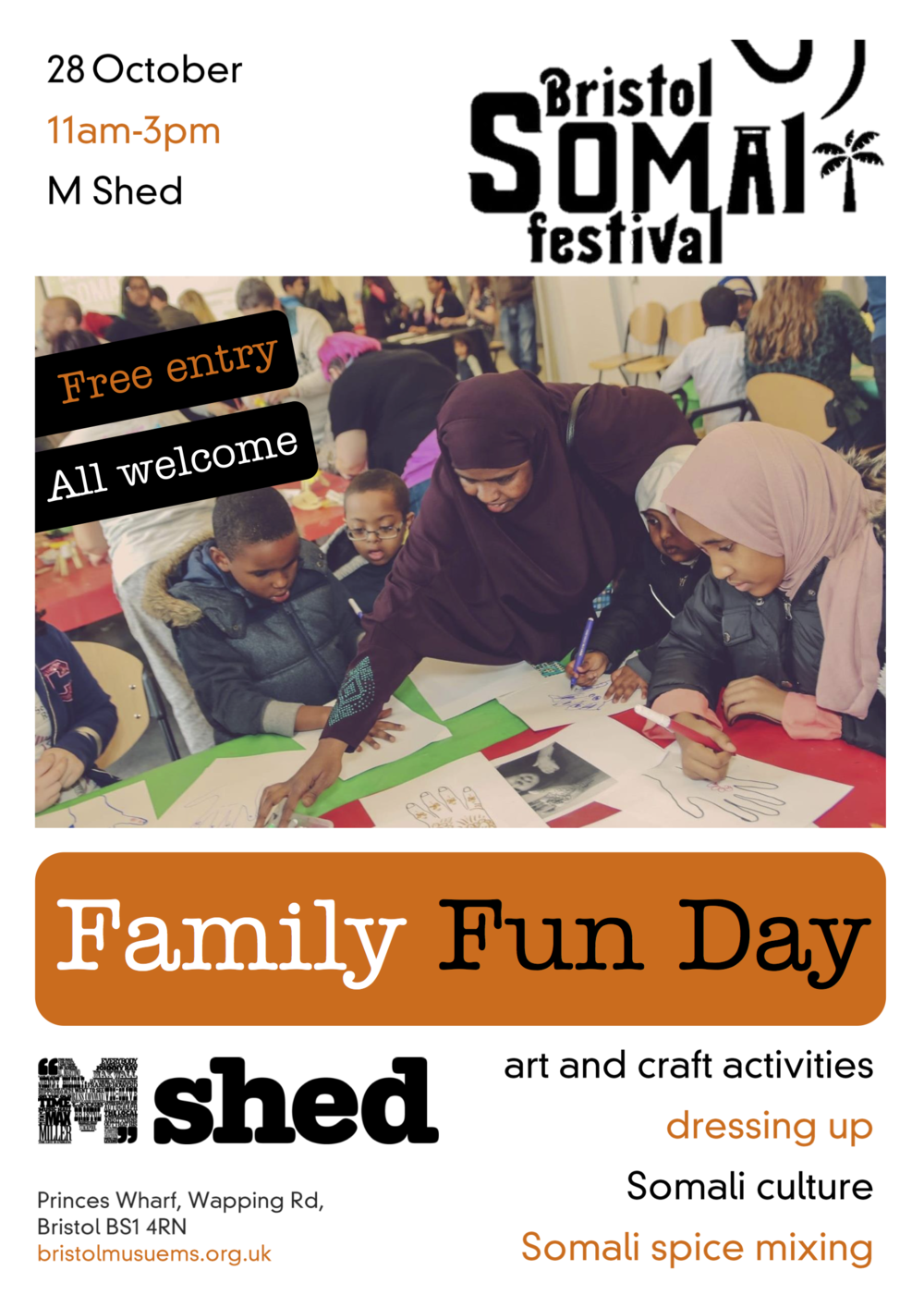 M Shed Somali Fun Day Flyer 2017.png