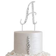 "2.5"" Jeweled Cake Topper - $4 4.5"" Jeweled Cake Topper - $6"