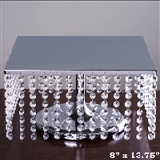 "13.5"" Wide Cake Stand - $40 (Silver or Gold)"