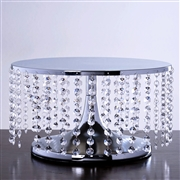 "13.5"" Diameter Cake Stand - $25 (Silver or Gold)"