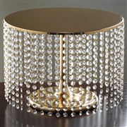 "15.5"" Diameter Cake Stand - $30 (Silver or Gold)"