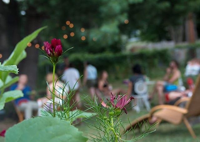 Remembering back to our July 4 Celebration. . . . #gardenparty #gathering #flowers #depthoffield #photgraphy #thebmorecreatives