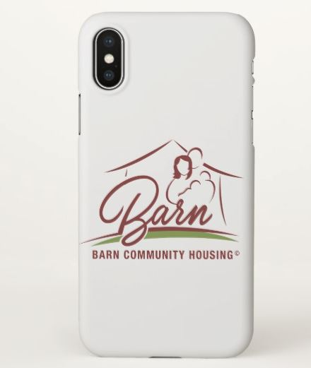 iPhone X BARN Case $24.95 - Every time you pick up your phone, you'll think of us!