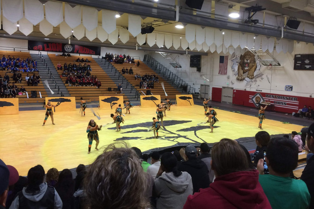 20180317Winter Guard @ Westminster H.S. -
