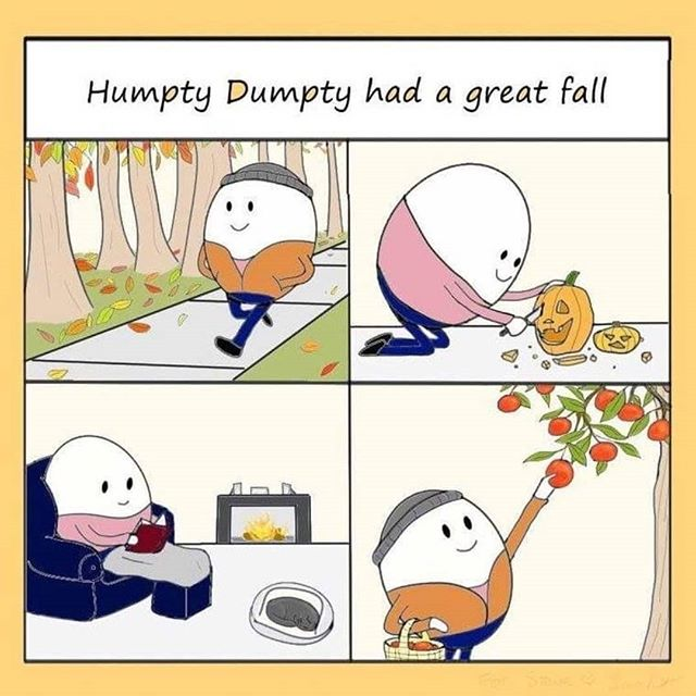 happy Sunday here is some wholesome fall content!