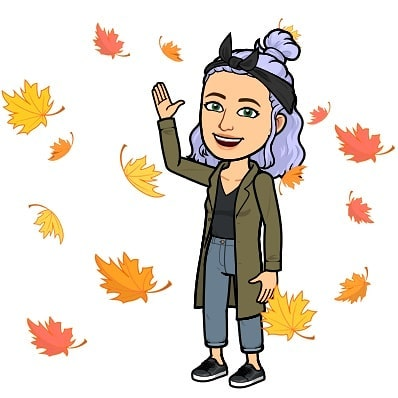soooo I did a thing! I dyed my hair. It looks killer. Here's a pic of my updated bitmoji to prove that to you