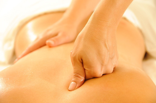 Deep Tissue Massage - Deep Tissue Massages uses slow strokes, often with heavier pressure to relieve tension for the lower layers of musculature. It is more commonly used to help relieve chronic pain with therapeutic intent specific to your needs.