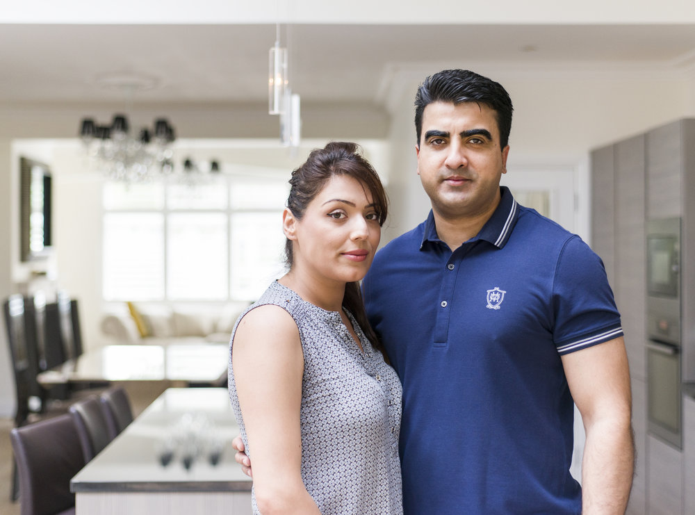 """""""Cham came through recommendation. When we first met he was brimming with enthusiasm and good ideas. Some of the best features of our home were his suggestions. He is honest, reliable, and we wouldn't hesitate to recommend him to others.""""    MR & MRS VIRDEE"""