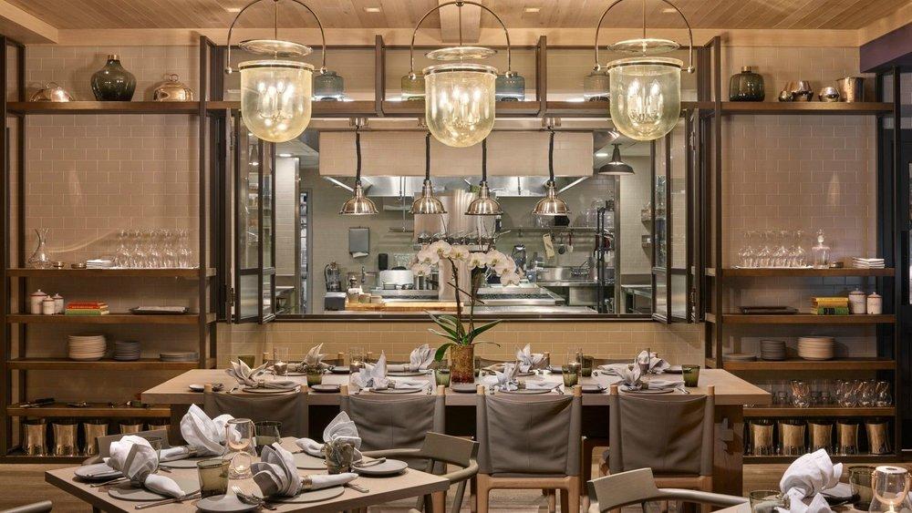 Acacia House Dining Room - Las Alcobas Resort