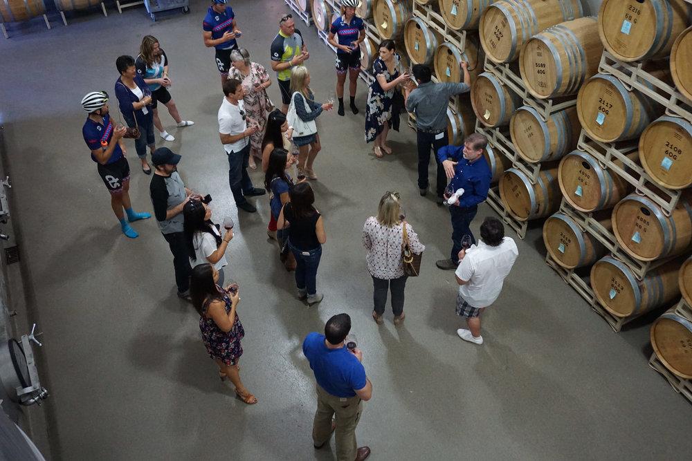 Winemaker Hosted Barrel Tasting - ZD Wines Barrel Rooms
