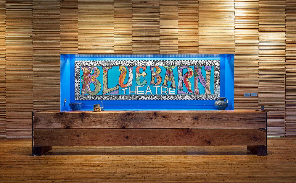 Bluebarn's lobby