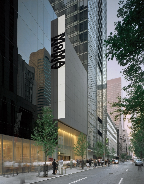 The Museum of Modern Art, 53rd street entrance | Image courtesy of MoMA