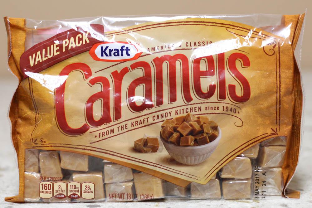 Kraft Caramels Value Pack 13 oz  Stoltzfus Family Market-$1.35 Target-$1.89 for a smaller pack (11 oz)