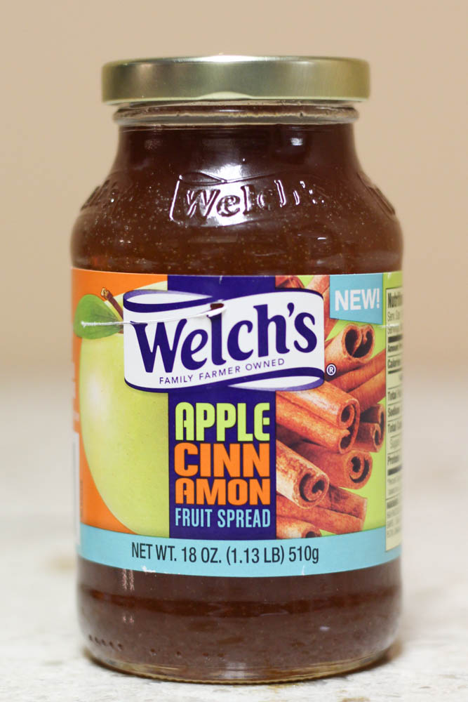 Welch's Apple Cinnamon Fruit Spread 18 oz  Stoltzfus Family Market-$0.79 Walmart-$2.48