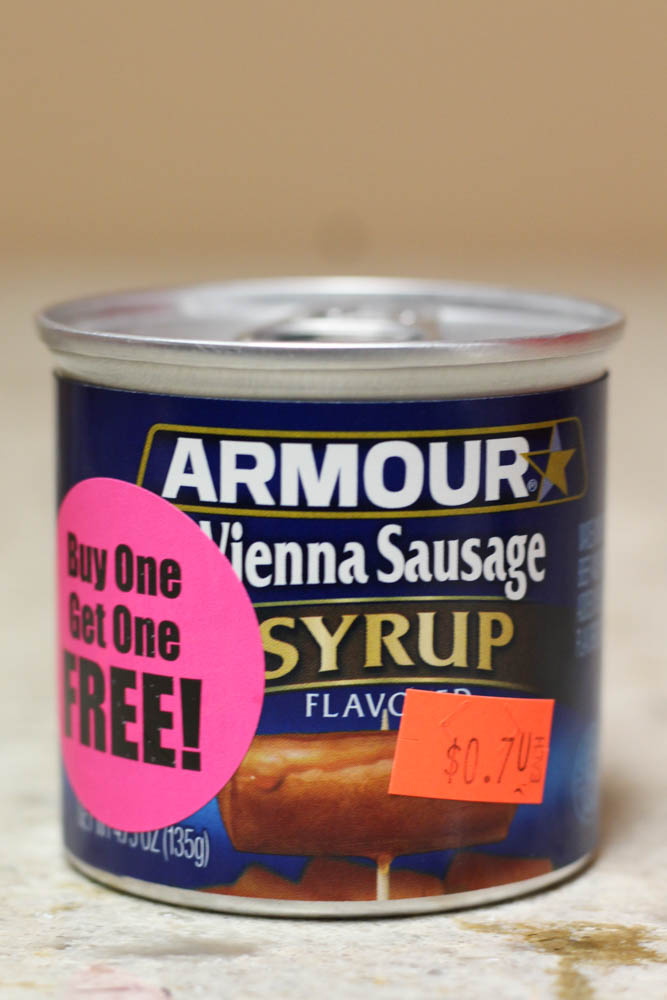 Armour Vienna Sausage Syrup Flavored  Stoltzfus Family Market-BUY ONE FOR $0.70 & GET ONE FREE