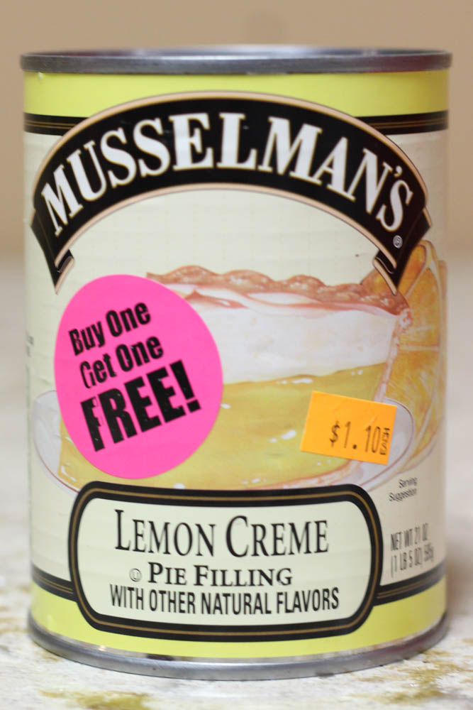 Musselman's Lemon Creme Pie Filling  Stoltzfus Family Market-BUY ONE FOR $1.10 & GET ONE FREE