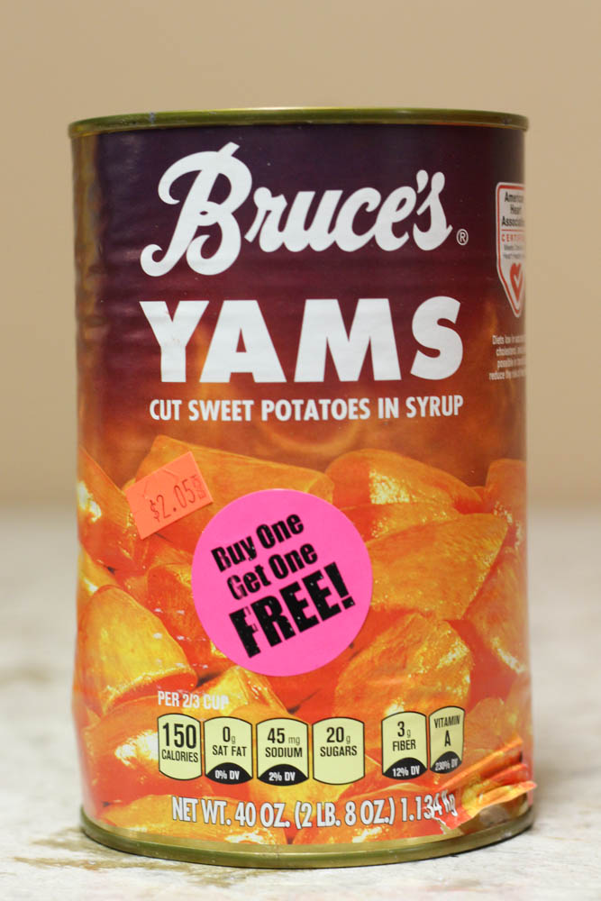 Bruce's Yams Cut Sweet Potatoes in Syrup  Stoltzfus Family Market-BUY ONE FOR $2.05 & GET ONE FREE Amazon-$5.76 a piece