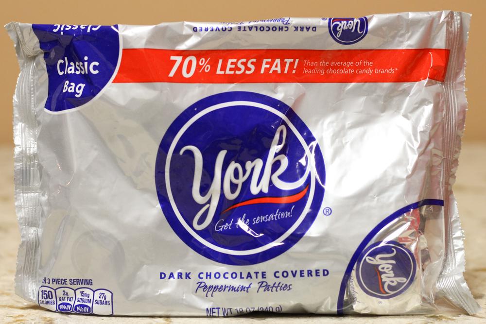York Dark Chocolate Covered Peppermint Patties 12 oz  Stoltzfus Family Market-$3.25 Jet.com-$4.39