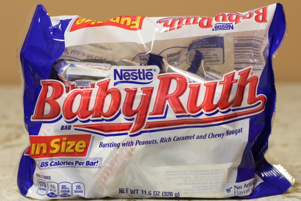 Nestle Baby Ruth Fun Size 11.5oz  Stoltzfus Family Market-$1.95 Kmart-$2.45